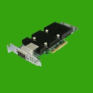 DELL 0T93GD 12 GB SAS Controller HBA Dual Poweredge SFF 8644 PCI-e x8 Low Profil