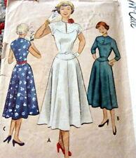 Lovely Vtg 1950s Dress McCall Sewing Pattern 15/33