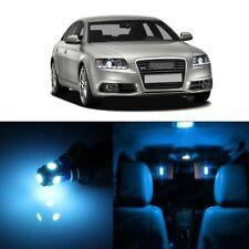 18 x Error Free Ice Blue LED Interior Light For 2005 - 2011 Audi A6 S6 C6 + TOOL
