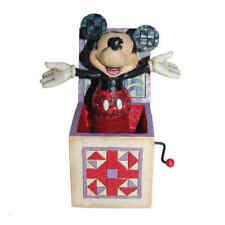 DISNEY TRADITIONS Mickey in the box NEU/OVP Micky Springteufel Figur 4027950