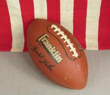 Vintage Franklin 5225 Football with Laces Herschel Walker Autograph Model Nice!