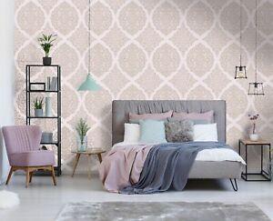 Superfresco Easy Florence Pink / Rose Gold Damask Wallpaper (Was £17)