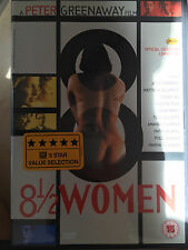 Toni Collette 8 1/2 WOMEN ~ Half 1999 Peter Greenaway British Cult Film | UK DVD