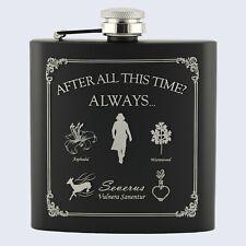 Severo Snape estilo, Afer todo este tiempo, Harry Potter Inspirado, 6oz Hip Flask