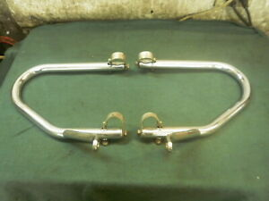 BMW Motorcycle Airhead OEM CHROME crash bars for all models