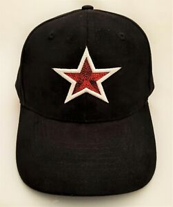 Star Puff 3D Embroidered baseball Cap Hat with Metal Buckle