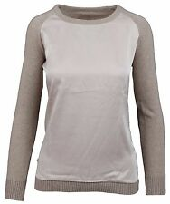 LA GAUCHITA by L' ARGENTINA Damen Pullover Sweater Rundhals Größe M 38 Kaschmir