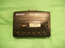 Vintage Sony walkman Avls cassette player WM-FX28 portable alarm FM/AM radio