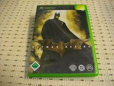 Batman Begins para Xbox * embalaje original *