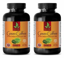 Fat Burner Pills - Green Coffee Extract GCA 800 - Slimmer - 120 Pills