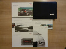 Audi A3 Sportback Owners Handbook/Manual and Wallet 04-08