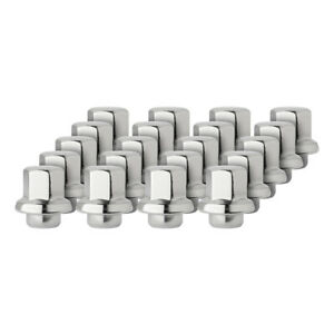 20 Chrome Lug Nuts for 1970-1985 Buick Chevy Oldsmobile Pontiac 371674 611-248