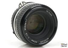 Nikon 50mm f/1.8 Ai-S Nikkor standard prime lens Superb! 3240611