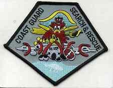 "Uscg Coast Guard Patch - Air Station Miami S.A.R., Fl (4.5"" x 4"") (fire)"