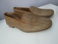 Stubbs and Wootton Men's Natural Straw Slipper 9.5