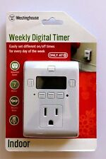 Westinghouse Weekly Digital Timer Indoor - Vacation - Christmas - NEW
