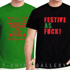HOME ALONE YA FILTHY ANIMAL FESTIVE AS F*CK MERRY CHRISTMAS GIFT T-SHIRT