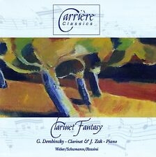 CLARINET FANTASY - WEBER, SCHUMANN, ROSSINI / CD - TOP-ZUSTAND