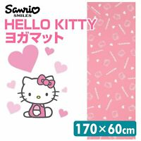 Hello Kitty Yoga Mat SAR504P Pink Sanrio 170 x 60cm From Japan Free Shipping