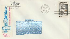 1973 USA cover Private Post - Doc`s Lokal Post Cape Canaveral - Skylab Programm