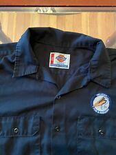 Pelican Brewing Polo Work Shirt Craft Beer Size 2Xl Dickies Oregon Coast