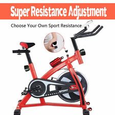 Indoor Cycling Bike Exercise Trainer Bicycle Gym Cardio Equipment New