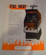 "Nice Americoin ""Flyer Chief"" Arcade Game Sales Flyer Free Usa Shipping!"