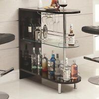 Coaster Home Furnishings 101063 Contemporary Bar Table, Black