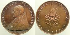 Medaglia Papa Paolo VI In Nomine Domini Anno I 1963 - Ae mm44