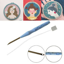 Adjustable Punch Needle Happy Stitching Embroidery Needle Sewing DIY Tool