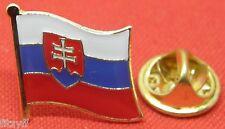 Slovakia Country Flag Lapel Hat Cap Tie Pin Badge Slovak Slovenská republika