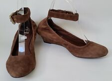 Rockport Shoes Wedges Ankle Straps adiiPRENE by Adidas Brown Womens Size 6.5