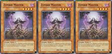 Zombie Master SDZW-EN016 X 3 1st Mint yugioh