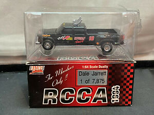 Action Racing Collectibles Dale Jarrett RCCA 1/64 Diecast Dually Pickup Truck