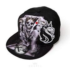 OGABEL Og Abel 2 Of A Kind Poker Queen Tattoo Inked Punk Skater Snapback Hat Cap