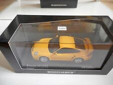 Minichamps Porsche 911 GT2 2007 in Yellow on 1:43 in Box
