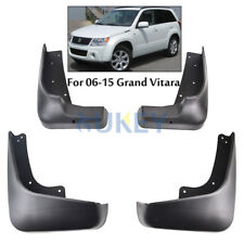 4PC FOR SUZUKI GRAND VITARA 2006-2015 MUD FLAP FLAPS SPLASH GUARD 2007 2011 2012