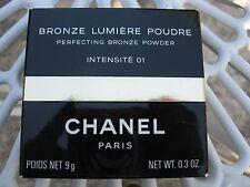 Chanel Bronze Lumiere Poudre Intensite 01, Vintage , Rare !