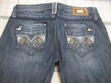 Guess Premium Jeans Foxy Flare 26 X 33 L M? Low Rise Stretch 2 a6 NICE~!