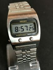Vintage Seiko 0439-5009 Watch - 1976 Quartz LC - James Bond 007 Moonraker