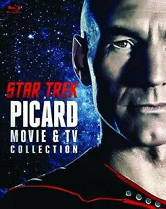 Star Trek: Picard Movie & TV Collection [New Blu-ray] Boxed Set, Dolby