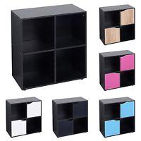 4 6 9 Cube Wooden Bookcase Shelving Display Shelves Storage Unit Wood Shelf Door