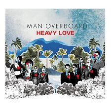 Man Overboard HEAVY LOVE Limited 1st Press NEW SEALED Clear w/ Splatter Vinyl LP