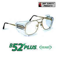 B52+ SIDE SHIELDS FOR RX GLASSES SAFETY EYEWEAR EYE PROTECTION ANSI Z87.1