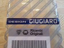 fregio stemma adesivo DESIGN GIUGIARO FIAT ALFA ROMEO BADGE logo originale