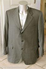 LANVIN PARIGI giacca per abito sottile pura lana vergine T 56 XXL