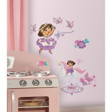 Dora the Explorer Wall Decals 26 Enchanted Forest Stickers Girls Room Home Decor