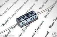 4pcs-NICHICON SE 1000uF (1000µF) 50V Axial Hi-Fi Audio Electrolytic Capacitor
