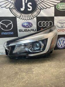 2018 2019 Subaru forester Left Led Headlight Used Oem