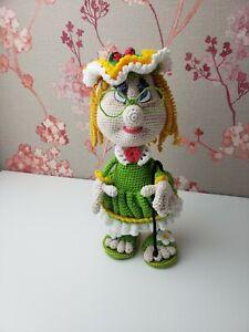 Amigurumi Puppe  Oma Jubiläumsgeschenk